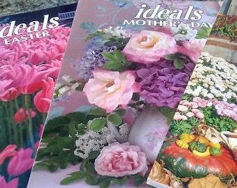 Ideals Magazines/Three Ideals Magazines/Vintage Ideals Magazines/Popular Ideals Magazines/Easter, Mother's Day, Thanksgiving Ideals