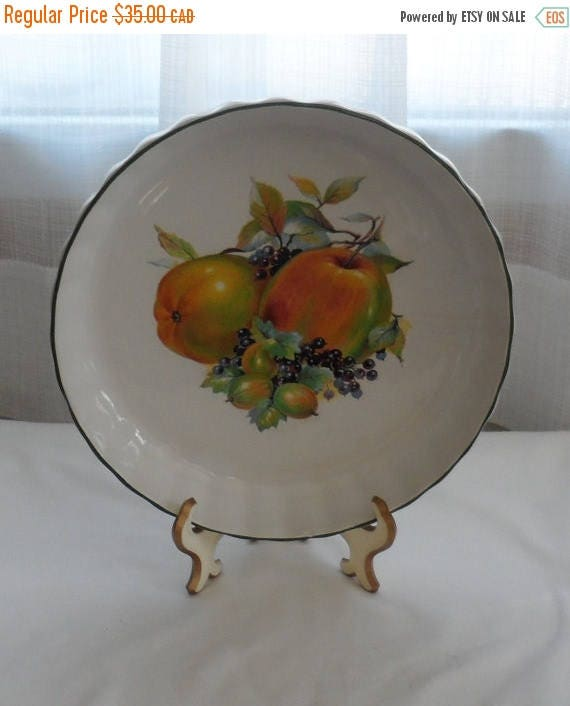 On sale 1980s vintage mayell oven to ceramic flan quiche for Decoration quiche