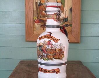 Vintage Altenmunster Brauer Bier Beer Decanter Bottle