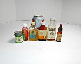 Medicine Bottles With Labels,Old Medicine Bottle,Old Brown Medicine Bottle,Medicine Bottles,Sloans Liniment Bottle,Old Glass Medicine Bottle
