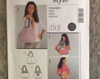Burda Pattern - handbag, easy, #7410, 3 variations