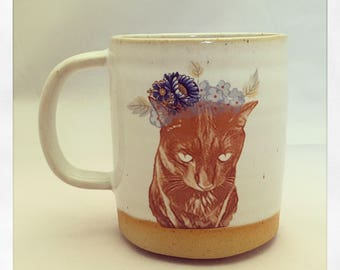 Bull Bull's Fabulous Black Cat Mug
