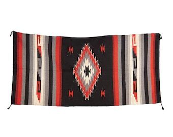 Southwestern 1970's Cotton Rug