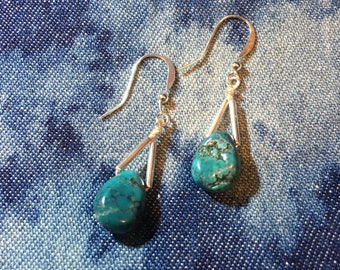 Turquoise Rain Earrings