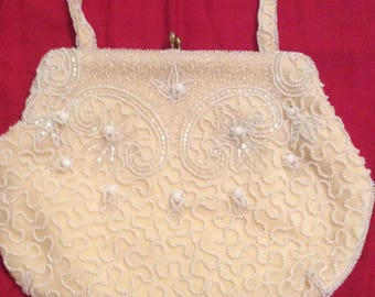 Vintage Beaded clutch purse