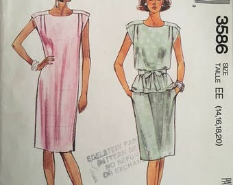 McCall's 3586 Sewing Pattern (Vintage)