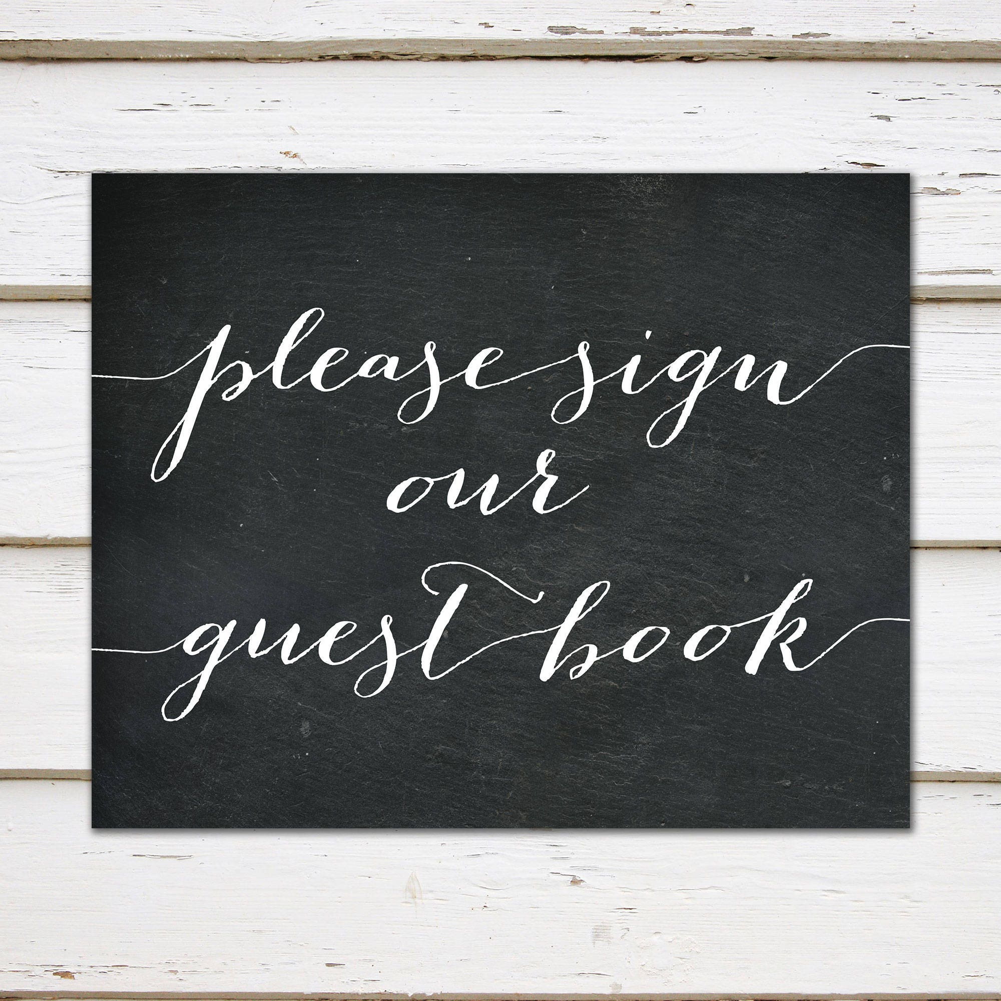 printable please sign our guest book sign sign book guestbook table personalized book