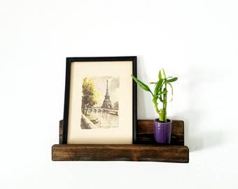 Picture Ledge Shelf - Wood ledge shelf - Floating Shelves - Modern shelf - farmhouse decor