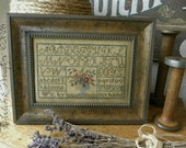 "THREADWORK PRIMITIVES ""Painted Threads Sampler"" 