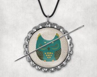 Needle Minders, Needle Nanny, Whimsical Owls, Needleminder, Needlenannies, Needle Holders, Needle Keepers