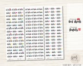 Change Bed Sheets & Change Towels Stickers - Planner Stickers - FS102
