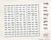 Move/Rent House Stickers - Planner Stickers - FS104