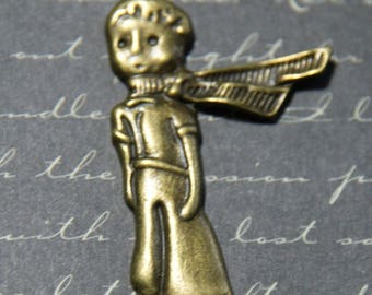 Great little Prince charm bronze