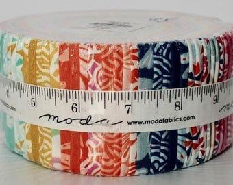 MODA JELLY ROLL | Early Bird | Kate Spain | Precut | Quilting Fabric