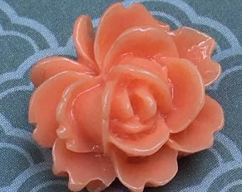 Rose petal stud earrings!