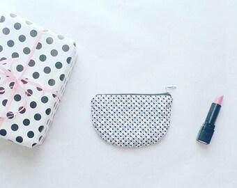 Small cotton Cotton coin purse wallet