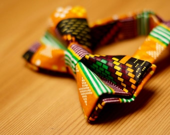 Sika African Print Bow Tie