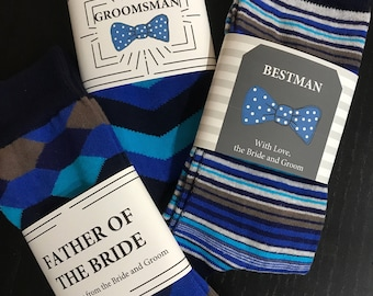 Father of the Bride and/or Father of the Groom Wedding Gift Socks