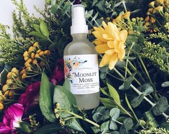 MOONLIT MOSS Linen + Air Mist | Room Spray | Room Fragrance