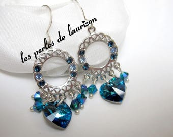 dream of Aurora Borealis earrings