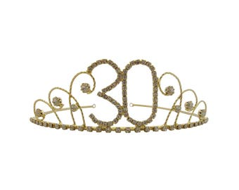 30th Birthday Crown Etsy