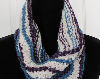 Berries and cream wool cowl *Free Shipping*