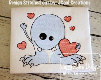 Love monster sketch