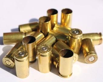 Once Fired 9mm Bullet Brass Casings (100x) Crafting material.  Spent bullet casings, 9mm reloading brass