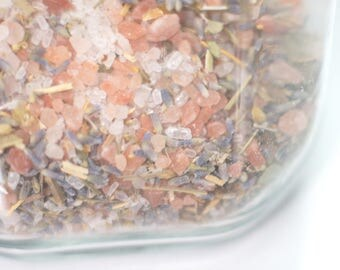 Wicca Uncrossing Bath Salts for Empath Protection & Empath Healing, Remove Negative Energy, Witchcraft to Ground and Center, Aura Cleanse