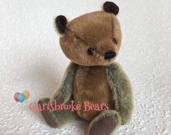 Miniature artist bear Chad