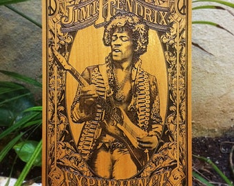 Music Art, Music Collectibles, Music Poster, Music Gift, Music Memorabilia, Jimi Hendrix, Music Wall Decor, Gifts for Musicians, Music Lover