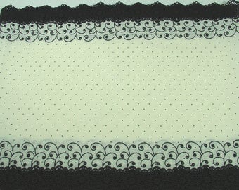 IVORY LACE AND BLACK COUPON