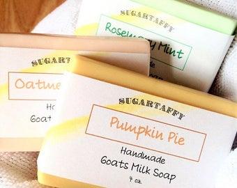 Pumpkin Pie Soap, Goat Milk Soap, Pumpkin Soap, Bath Soap, Handmade Soap, Pumpkin Goat Milk Soap, Body Soap