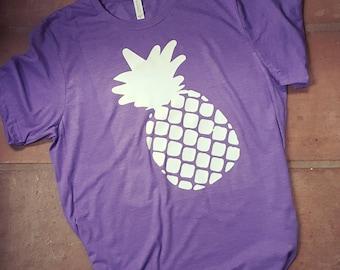 Comfy Pineapple Shirt - Summer Shirt by Paisley Jades