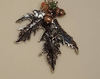 Leaf Necklace, Free Shipping