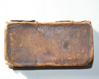 Rare Book...Quinti Horatii Flacci Opera..penned in 1698...only copy known to exist.