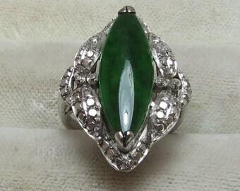 Vintage Jadeite Ring