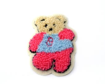 Applique patch, sew on patch bear