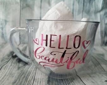 Hello Beautiful 18oz Mug