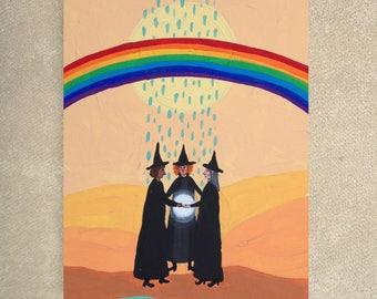 SALE / Making Rainbows card