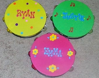Tambourine/Musical Instruments/Party Favors