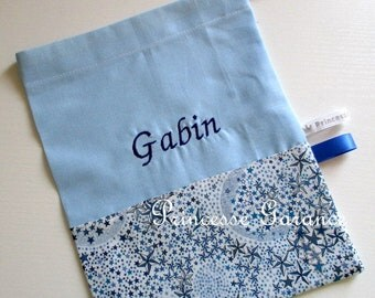 Canteen, treasures * pouch with drawstring, personalised, personalized or non - custom