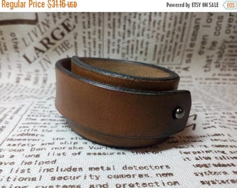 15% off Minimalist leather bracelet Men's leather bracelet Women's leather bracelet Mens Leather bracelet for woman Bracelets Mens gift Wome