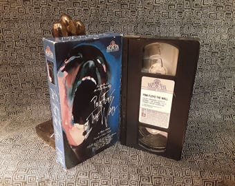 PINK FLOYD The Wall VHS Video Cassette David Gilmour Roger Waters Animated Music Film Classic Stoner Rock