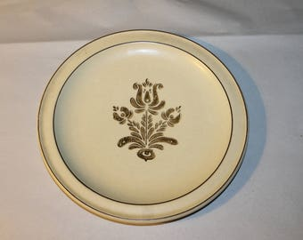 This a Vintage Dinner Plate, Philtzgraff, Made in USA, It matches Several Items that I have in my Shop Please Look,  Dining and Serving