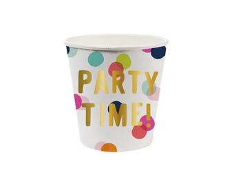 Party Shot Cups - Set of 10 - Paper Party Tableware