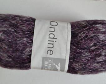 Pincushion ONDINE de U.T.E yarn for scarf 252
