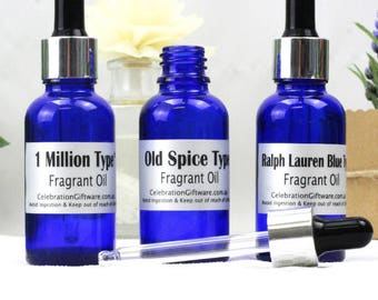 100% Fragrant Oil Collection (3) - Cologne
