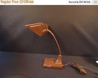 On Sale Vintage Art Specialty Flex Arm Fluorescent Industrial Steam Punk Desk Lamp