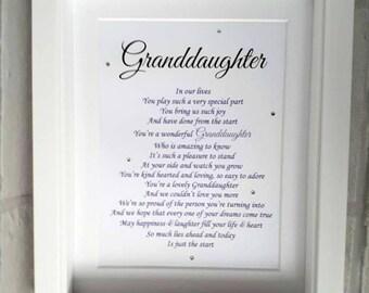 GrandDaughter gift, GrandDaughter Birthday, Grandparents gift, Grandchild gift, christmas gift Granddaughter